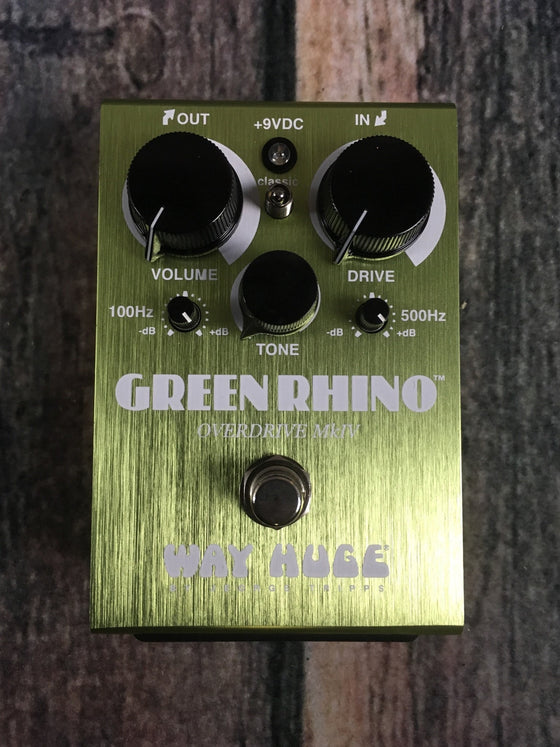 Way Huge pedal Way Huge WHE-207 Green Rhino MKIV Overdrive Pedal
