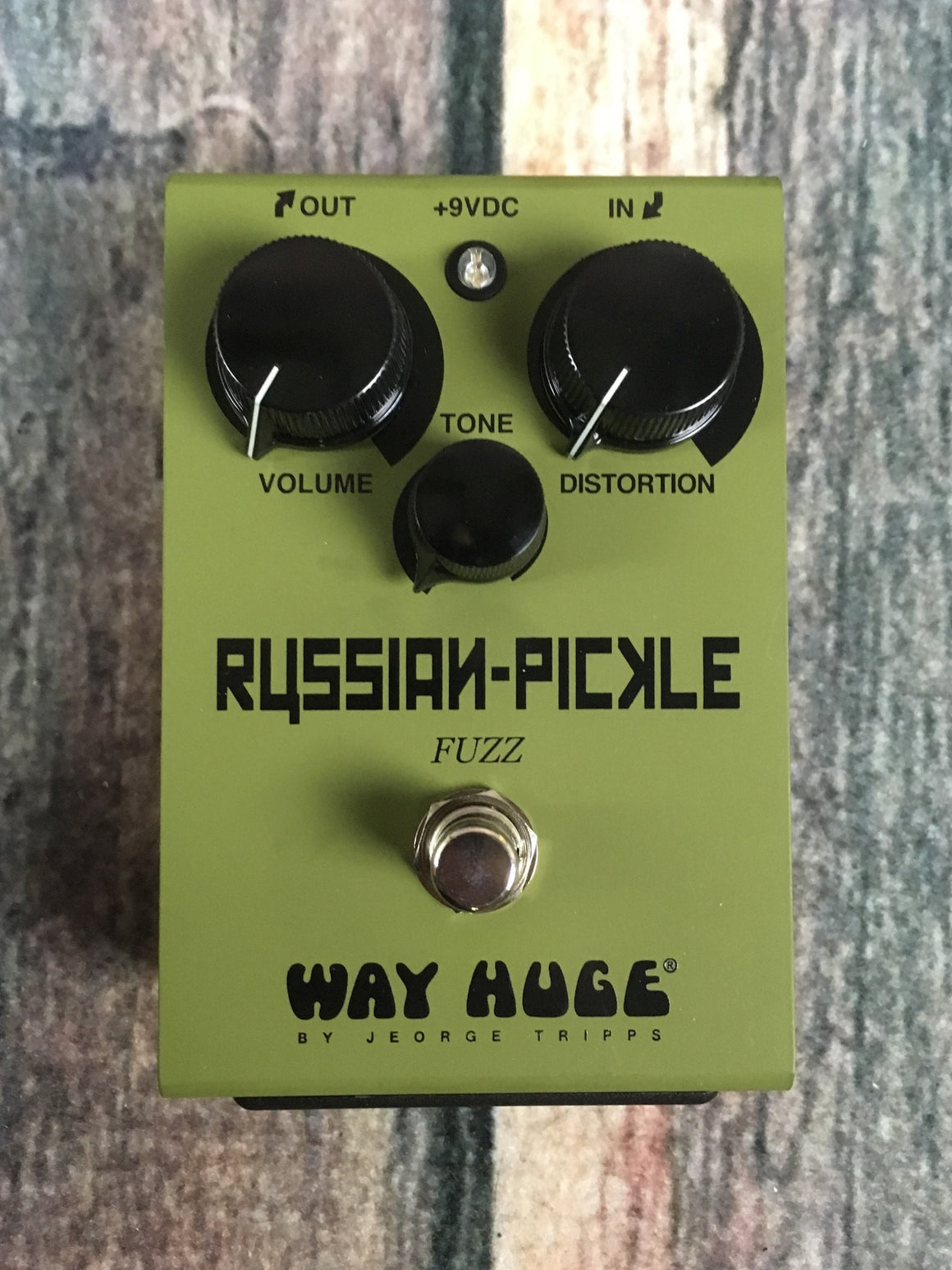 Way Huge pedal Way Huge WHE-408 Russian Pickle Fuzz Pedal