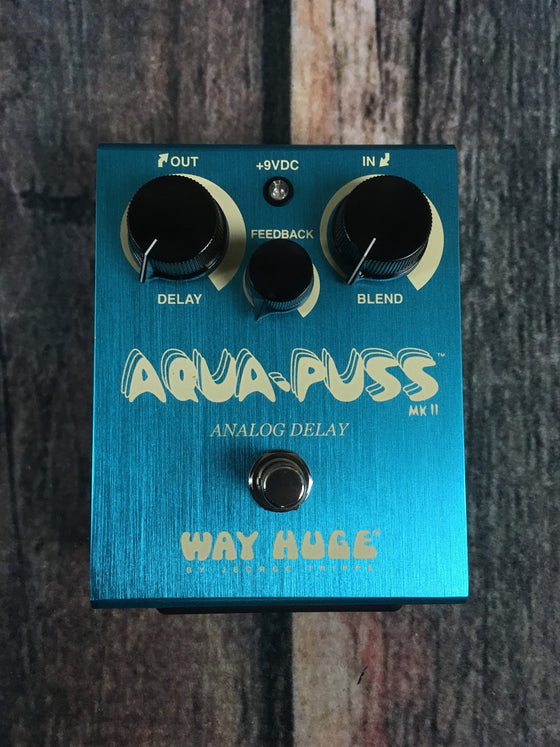 Way Huge pedal Way Huge WHE-701 Aqua-Puss Analog Delay Pedal