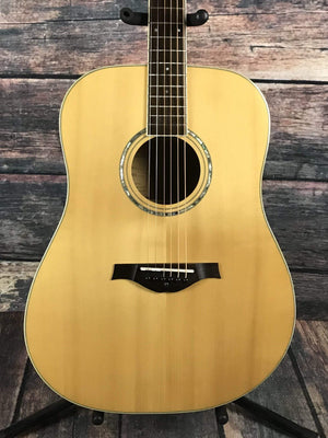 Wood Song Acoustic Guitar Used Wood Song Left Handed D-NA Dreadnought Acoustic Guitar with Gig Bag
