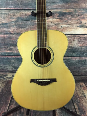 Wood Song Acoustic Guitar Wood Song Left Handed OM Orchestra Body Acoustic