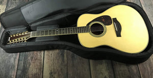 Yamaha Acoustic Guitar Used Yamaha LL16-12 Jumbo 12 String Acoustic Electric Guitar with Case