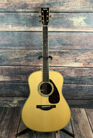 Yamaha Acoustic Guitar Used Yamaha LL16 ARE Acoustic Electric Guitar with Case
