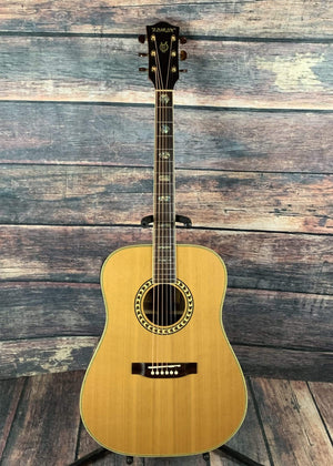 Zamar Acoustic Guitar Used Zamar Z-N-2 Acoustic Guitar with Hard Shell Case