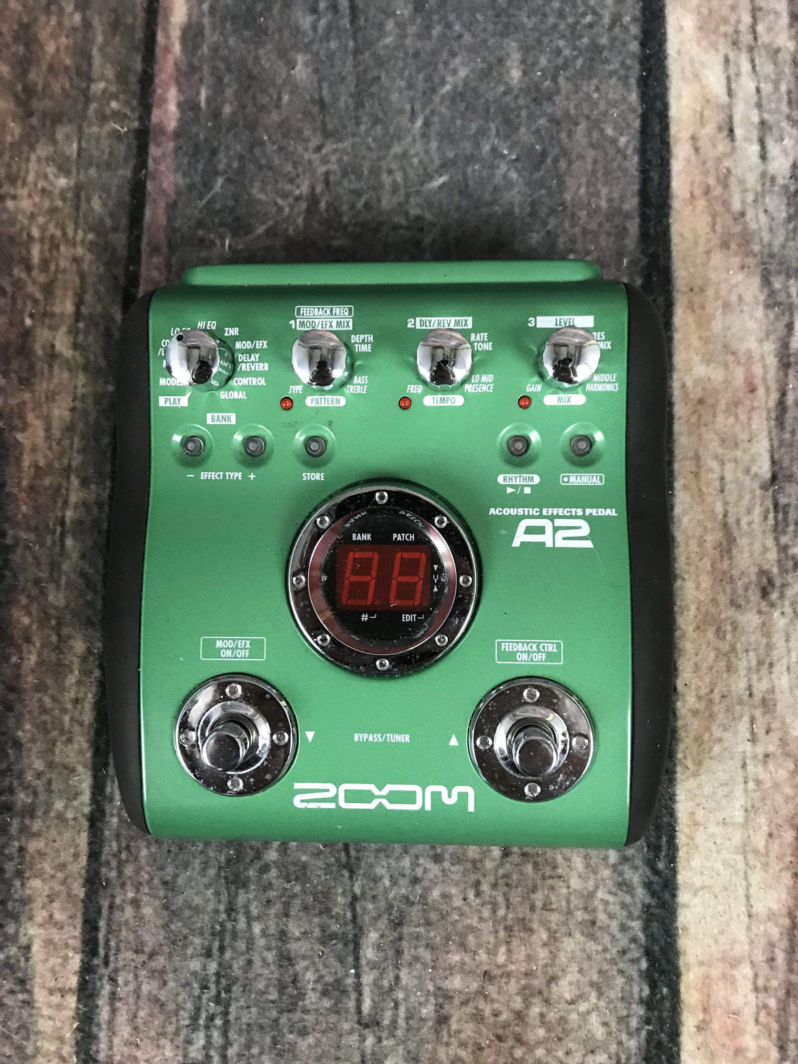 zoom Amp Used Zoom A2 Acoustic Multi Effect Pedal