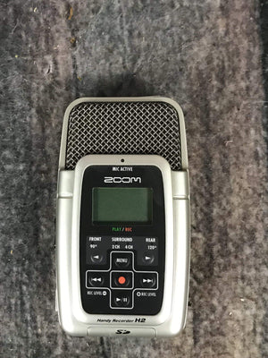 zoom Amp Used Zoom H2 Handy Recorder