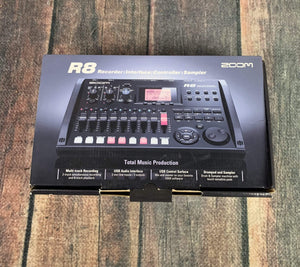 zoom Amp Used Zoom R8 Multitrack Digital Recorder and USB Interface with Box