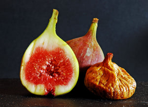 Fresh Figs and Dried Fig portrait