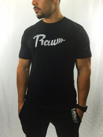 "Men's ""Raw"" T-shirt , T-Shirt - Raw Fitness Apparel, Raw Fitness Apparel"
