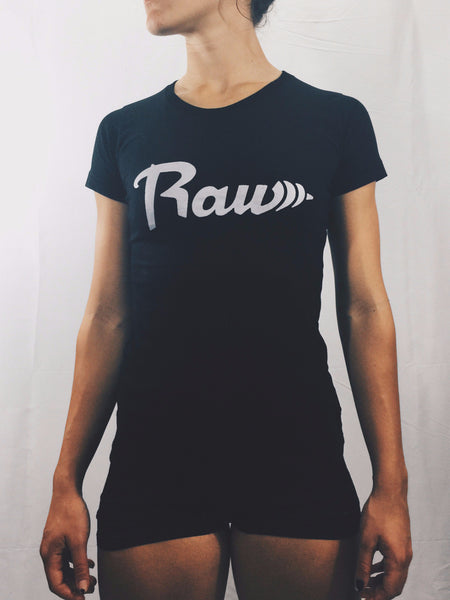 "Women's ""Raw"" T-shirt , T-Shirt - Raw Fitness Apparel, Raw Fitness Apparel  - 1"