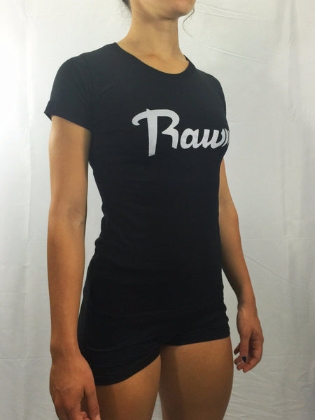 "Women's ""Raw"" T-shirt , T-Shirt - Raw Fitness Apparel, Raw Fitness Apparel  - 2"