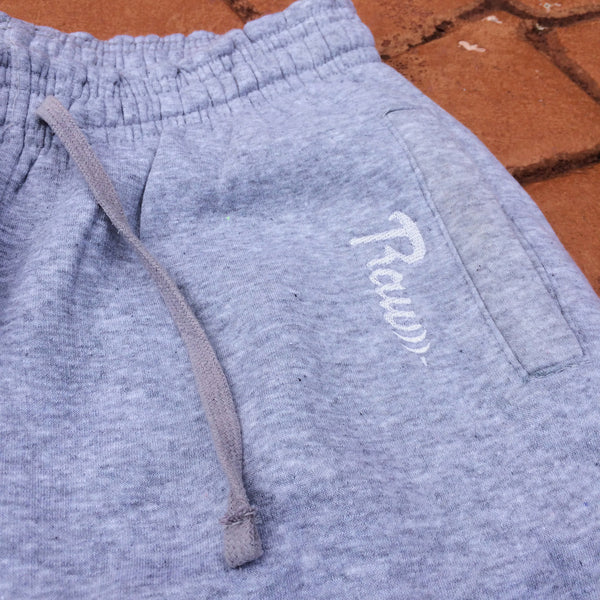 Men's Fitted Joggers (Heather Grey) , Bottoms - Raw Fitness Apparel, Raw Fitness Apparel  - 2