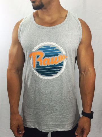 "Men's ""Dolphin"" Tank Top , T-Shirt - Raw Fitness Apparel, Raw Fitness Apparel  - 1"