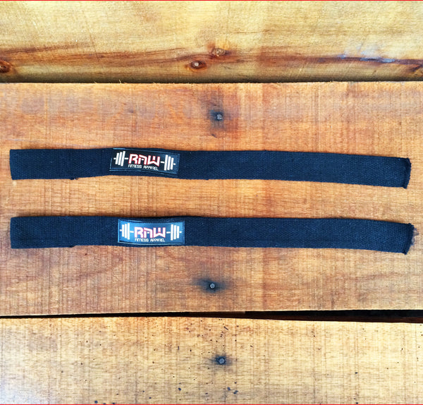 Raw Padded Cotton Lifting Straps , Accessories - Raw Fitness Apparel, Raw Fitness Apparel  - 4