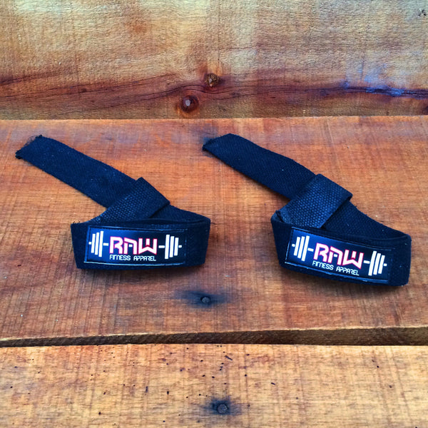 Raw Padded Cotton Lifting Straps , Accessories - Raw Fitness Apparel, Raw Fitness Apparel  - 2