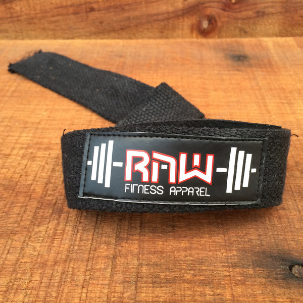 Raw Padded Cotton Lifting Straps , Accessories - Raw Fitness Apparel, Raw Fitness Apparel  - 3