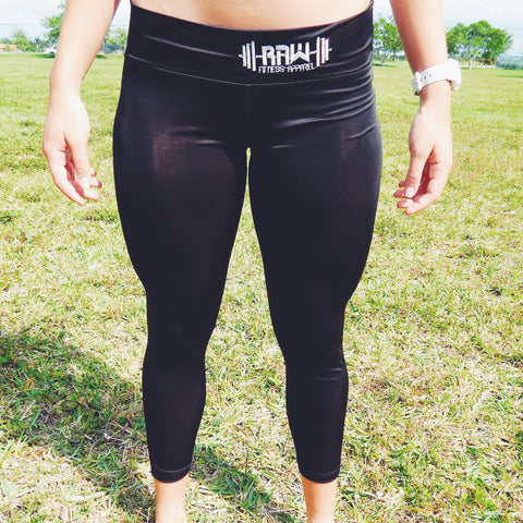 "Women's ""Live, Love, Lift"" Leggings , Bottoms - Raw Fitness Apparel, Raw Fitness Apparel  - 1"