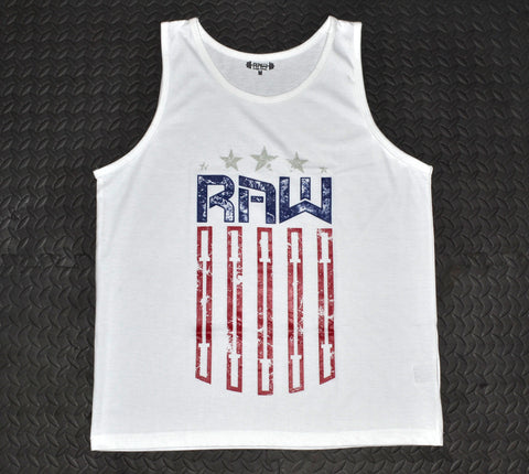 "Men's ""Raw Republic"" Tank Top , T-Shirt - Raw Fitness Apparel, Raw Fitness Apparel  - 1"