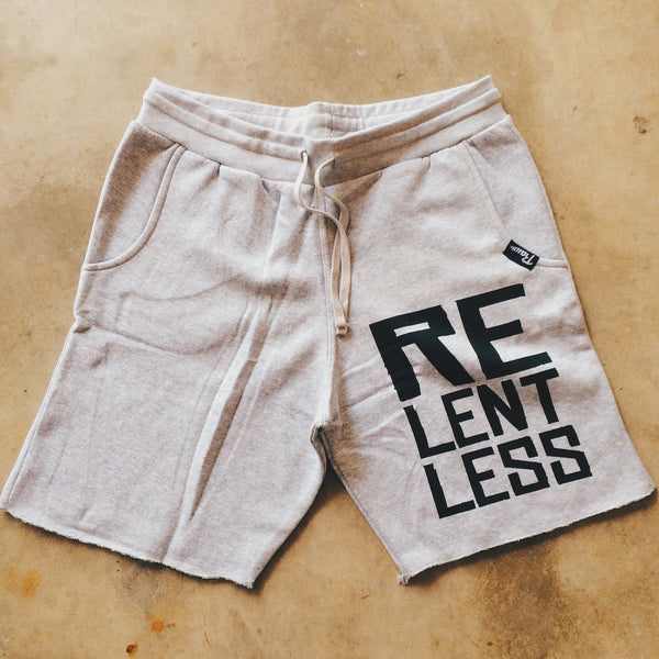 """Relentless"" Sweat Shorts , Bottoms - Raw Fitness Apparel, Raw Fitness Apparel  - 1"