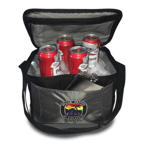 Rollin' Fatties Tailgate 12-Pack Cooler | Fat Bike Asinine
