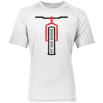 Simple Fatty Short Sleeve Wicking Jersey Tee | Fat Bike Asinine