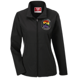 Women's Rollin' Fatties Soft Shell Weatherproof Jacket | Fat Bike Asinine