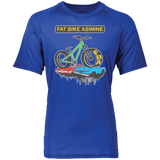 Monster Fat Bike Short Sleeve Wicking Jersey Tee | Fat Bike Asinine