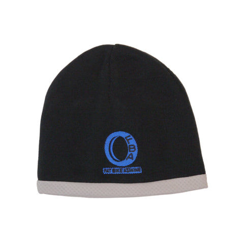 FBA Logo Ice Blue Fat Biking Winter Helmet Beanie Embroidered | Fat Bike Asinine