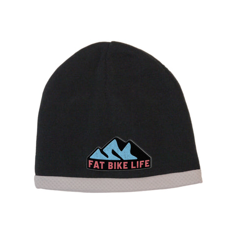 Fat Bike Life Mountain Performance Fat Biking Winter Helmet Beanie Embroidered | Fat Bike Asinine