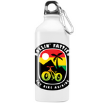 Rollin' Fatties 20 oz Stainless Steel Water Bottle-Fat BIke Asinine