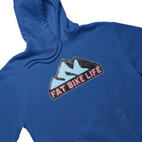 Fat Bike Life Mountain Hoodie | Fat Bike Asinine