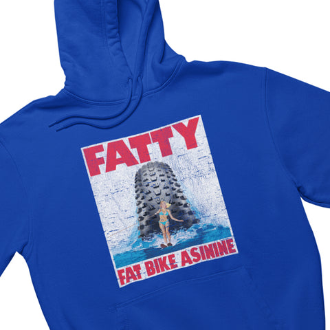 Fat Bike Horror Show Hoodie | Fat Bike Asinine