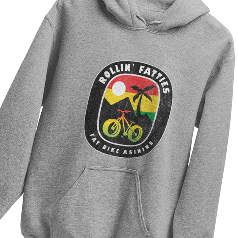Rollin' Fatties Hoodie | Fat Bike Asinine