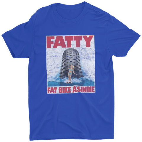 Fat Bike Horror Show T-shirt | Fat Bike Asinine