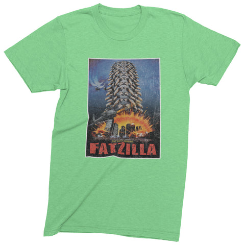 Fatzilla T-shirt | Fat Bike Asinine