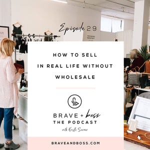 How to Sell in Real Life without Wholesale