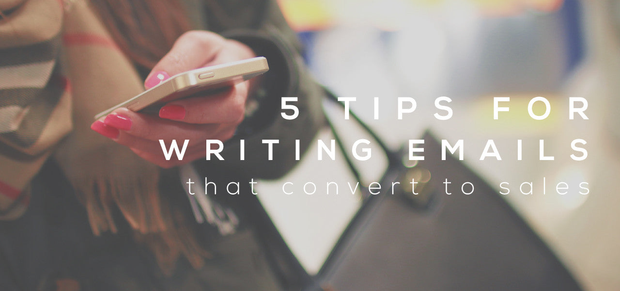 5 tips for writing better emails