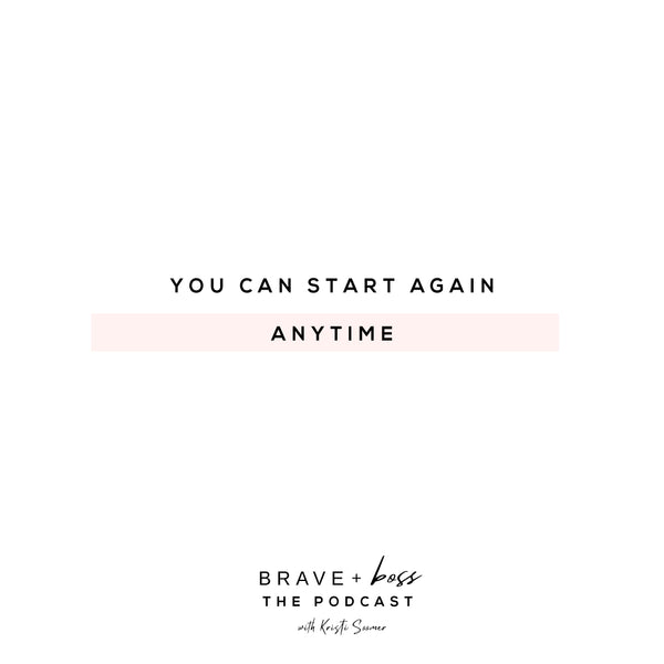 start again quote