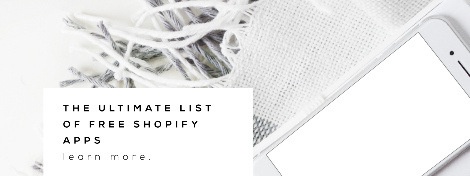 the ultimate list of best free shopify apps