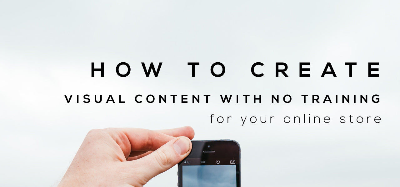 how to create visual content for your ecommerce store