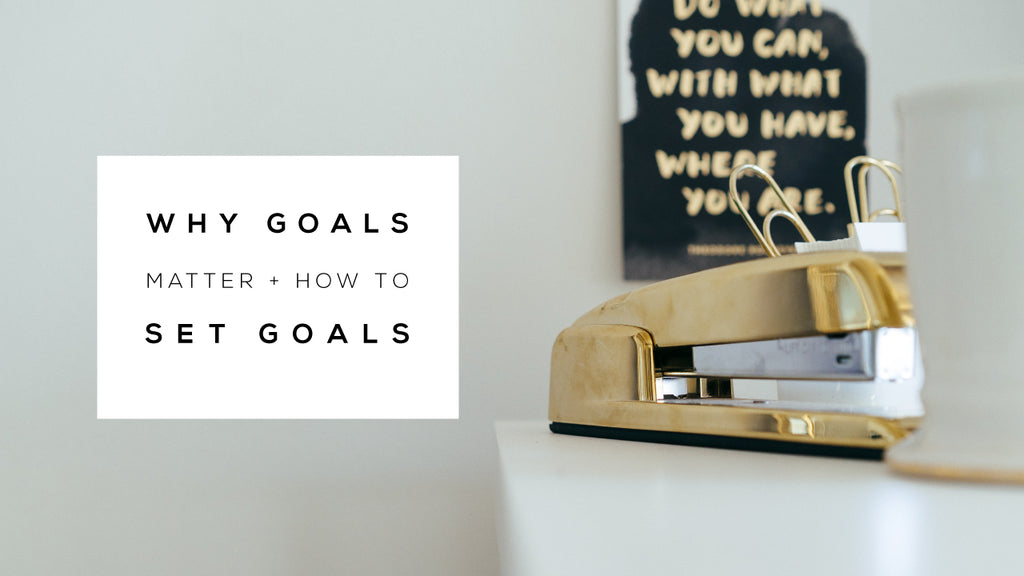 goal setting for ecommerce stores