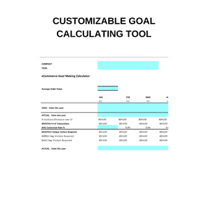 The Goal Forecasting Template with Bonus 1-Hour Mini Course
