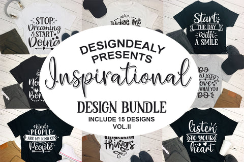 Inspirational Quotes Bundle - svgbundle.net