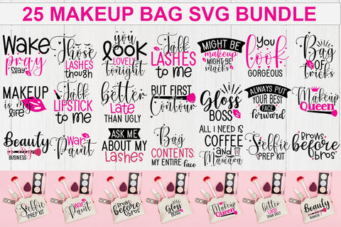 Makeup Bag SVG Bundle - svgbundle.net