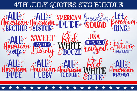 4th July SVG Bundle - svgbundle.net