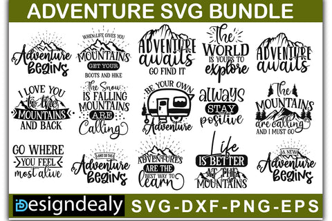 Adventure SVG Bundle - svgbundle.net