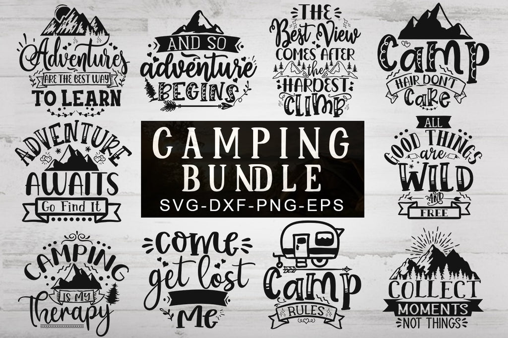 Camping SVG Bundle - svgbundle.net