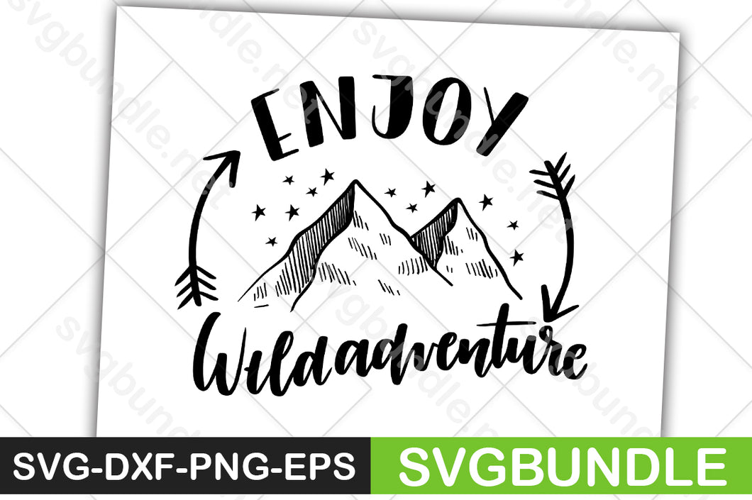 FREE Enjoy Wide Adventure - svgbundle.net