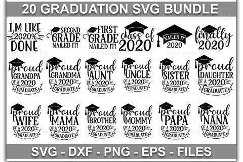 Graduation SVG Bundle - svgbundle.net