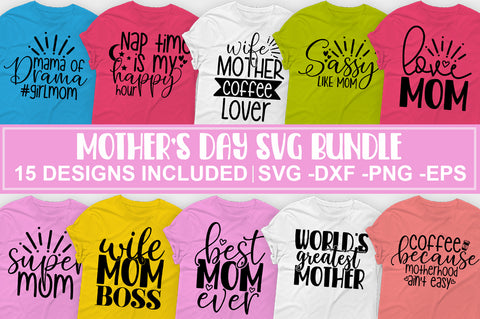 Mother's Day SVG bundle - svgbundle.net